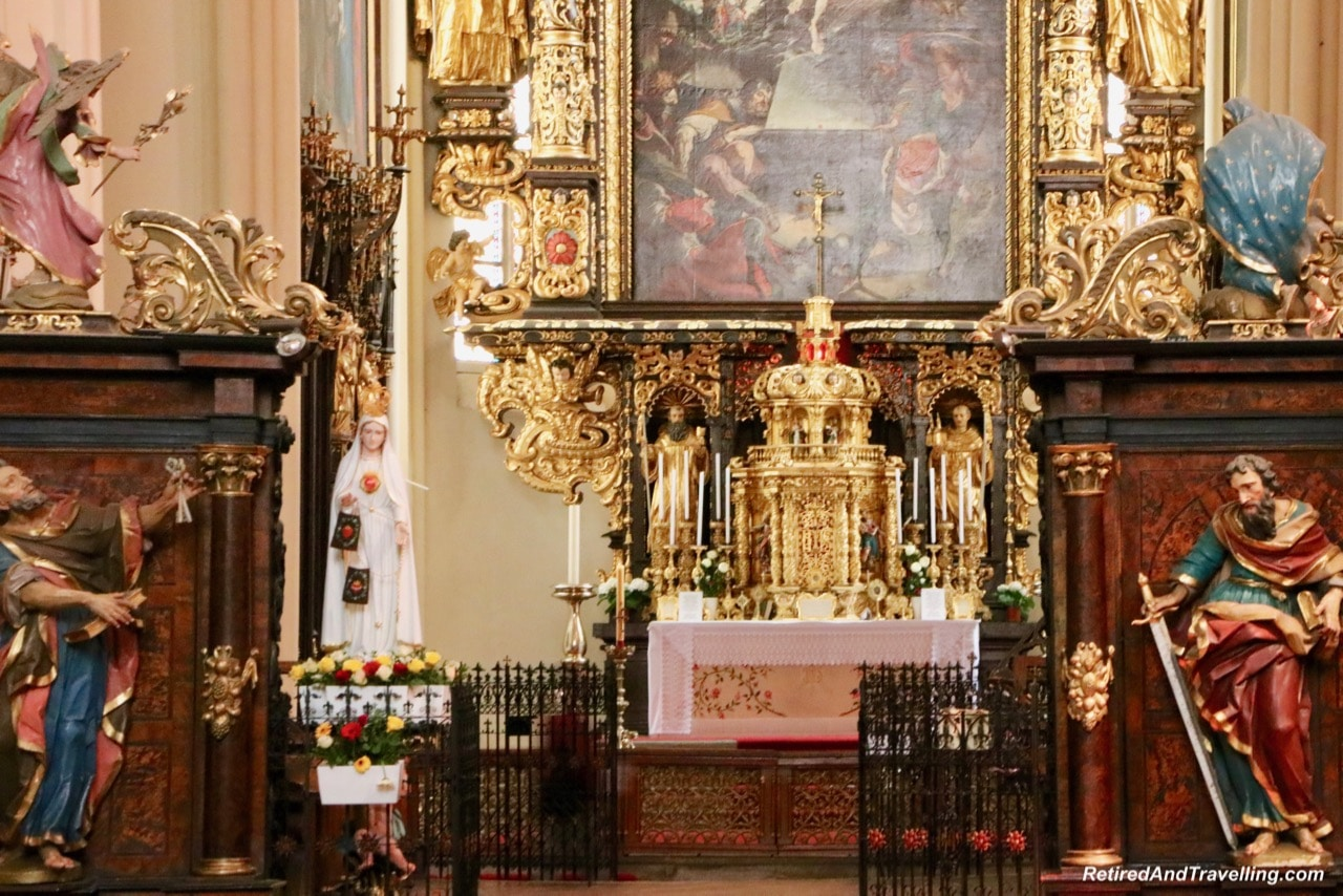 Rozmberk Vyssi Brod Cistercian Abbey Church Inside - Churches And Castles In The Czech Republic.jpg