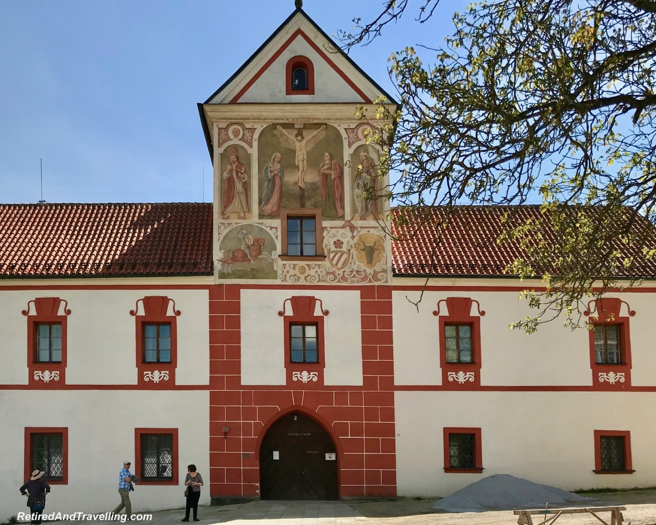 Rozmberk Vyssi Brod Cistercian Abbey - Churches And Castles In The Czech Republic.jpg