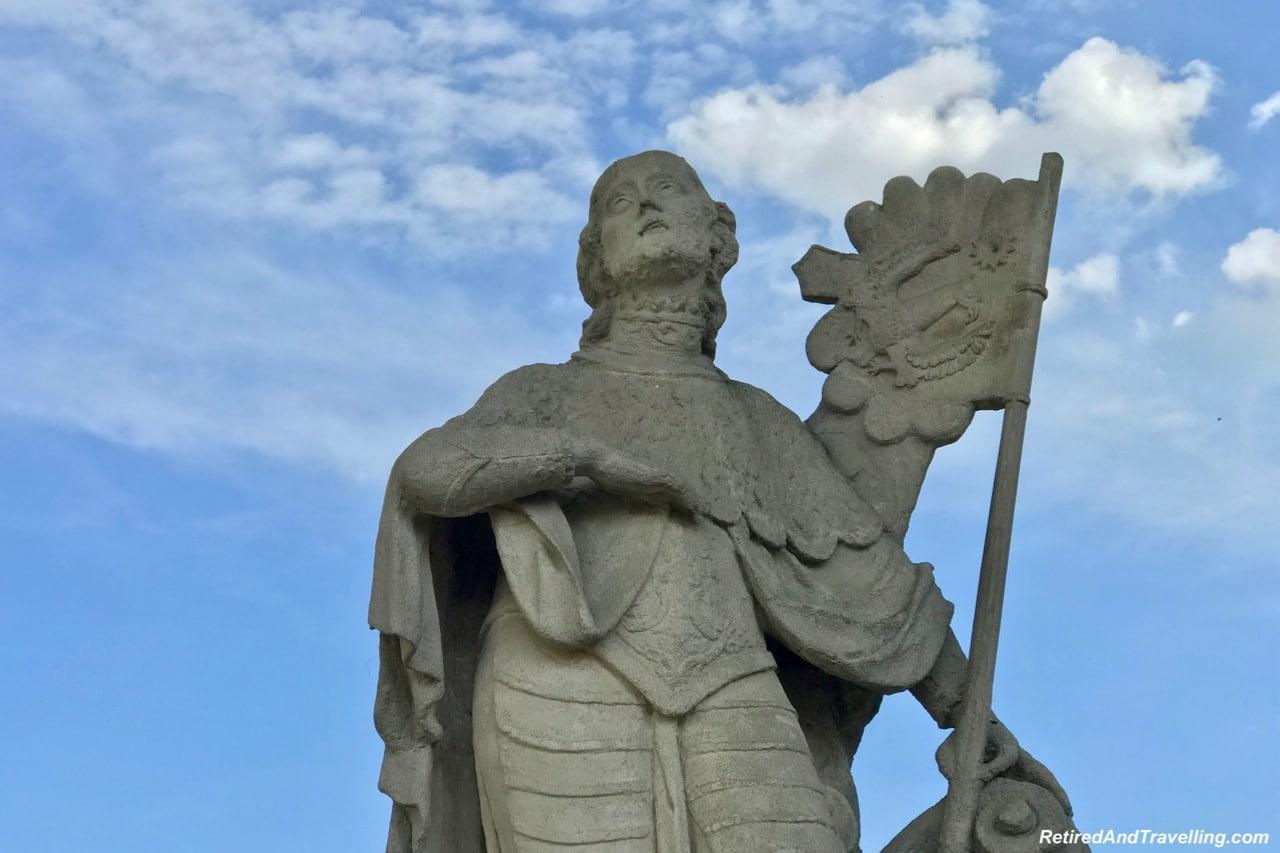 Cesky Krumlov Castle Statues - Churches And Castles In The Czech Republic.jpg