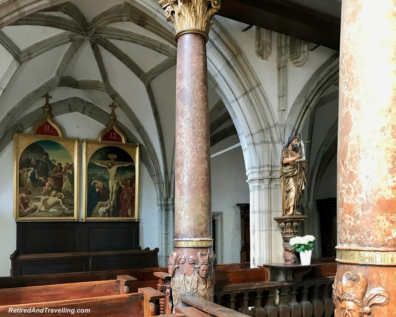 St Vitrus Cathedral Inside Cesky Krumlov - Churches And Castles In The Czech Republic.jpg
