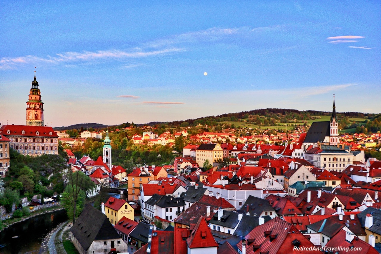 Cesky Krumlov Panoramic View - Churches And Castles In The Czech Republic.jpg