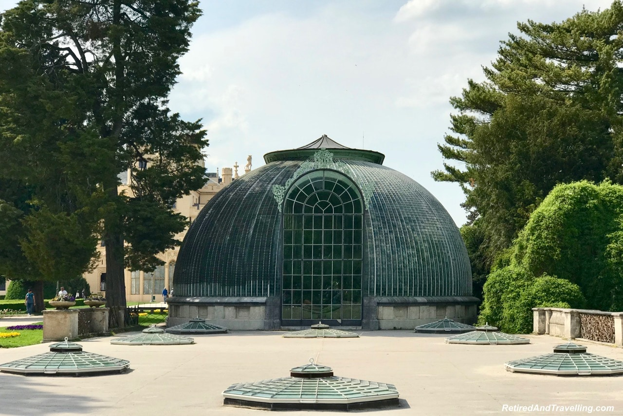 Lednice Castle Gardens and Greenhouse - Churches And Castles In The Czech Republic.jpg