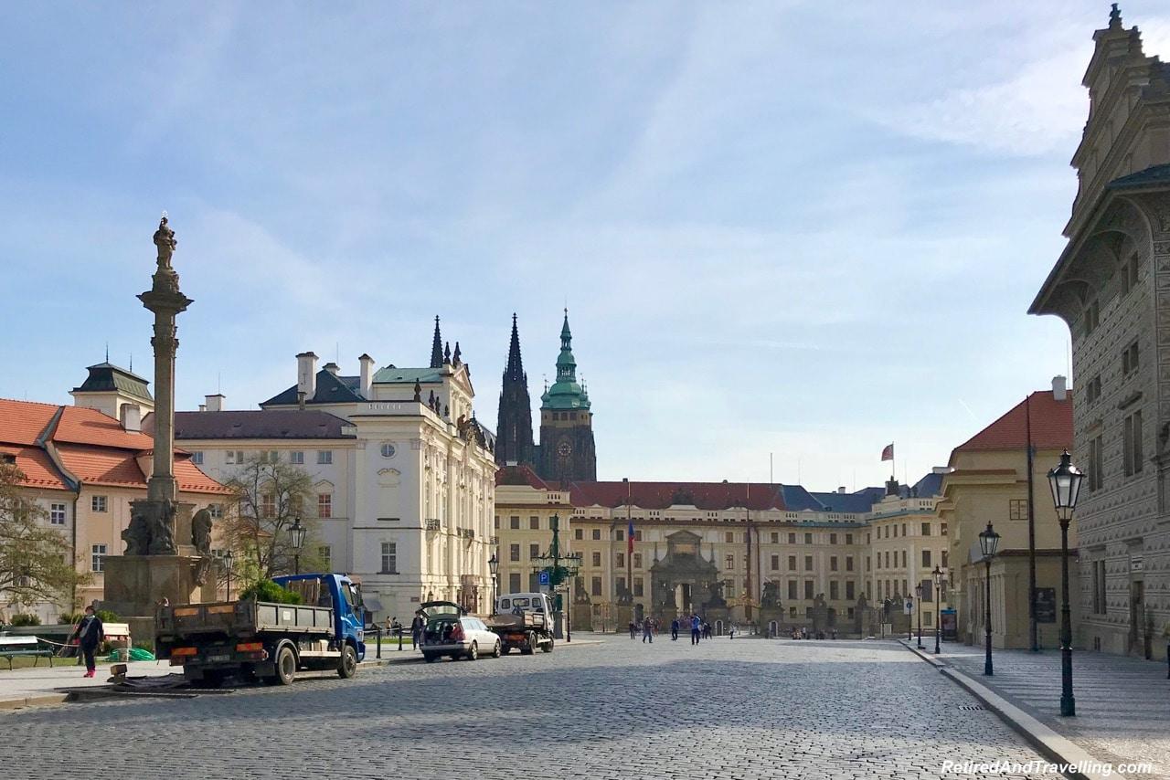 Prague Castle Gate - Churches And Castles In The Czech Republic.jpg