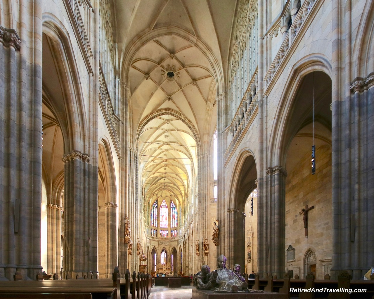 St Vitrus Cathedral Inside Prague - Churches And Castles In The Czech Republic.jpg