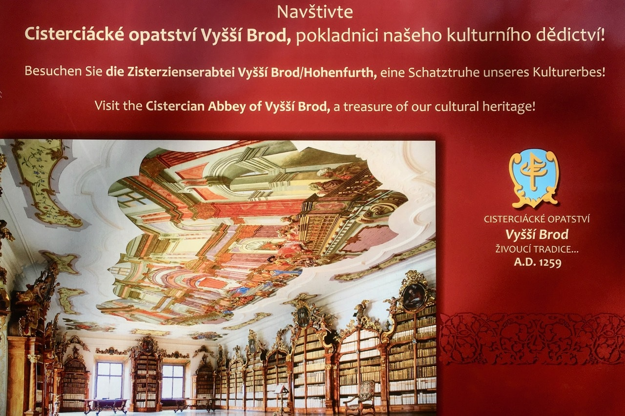 Rozmberk Vyssi Brod Cistercian Abbey Library - Churches And Castles In The Czech Republic.jpg
