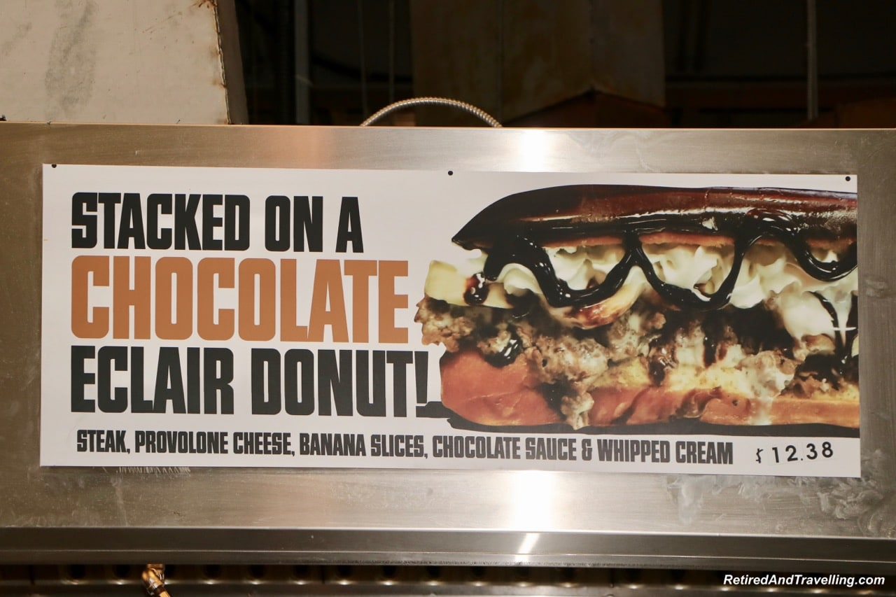 Food cheesesteak chocolate eclair - Things To Do At The Toronto CNE.jpg