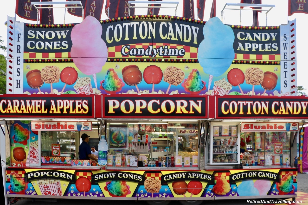Food cotton candy caramel apples popcorn - Things To Do At The Toronto CNE.jpg