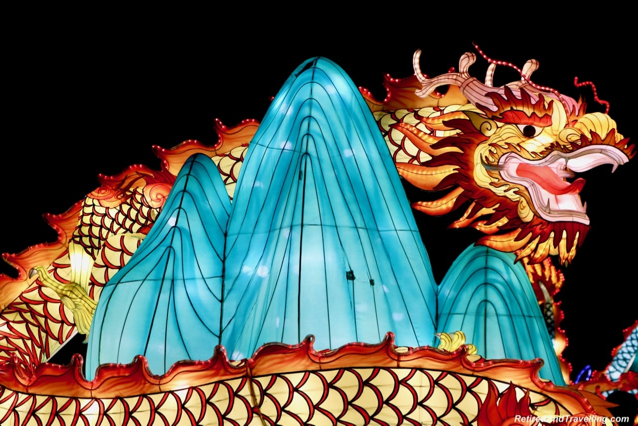 Four Dragons - Chinese Lanterns At The Toronto CNE.jpg