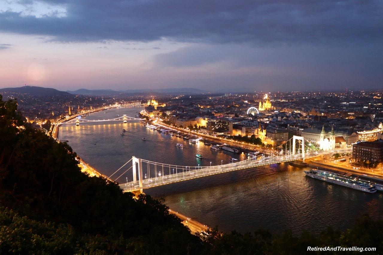 Gellert Sunset View - Night Danube River Cruise In Budapest.jpg
