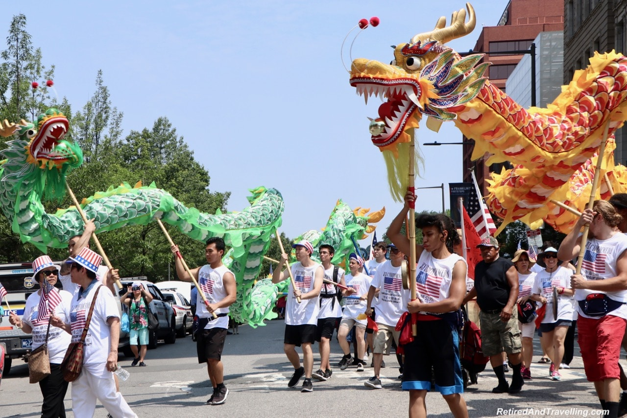 Parade Dragons - Philadelphia For The July 4th Independence Day.jpg