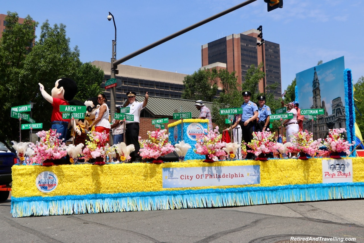 Parade Floats - Philadelphia For The July 4th Independence Day.jpg