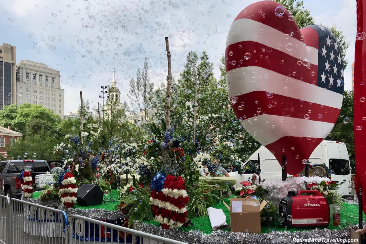 Philadelphia Heart Float - Philadelphia For The July 4th Independence Day.jpg