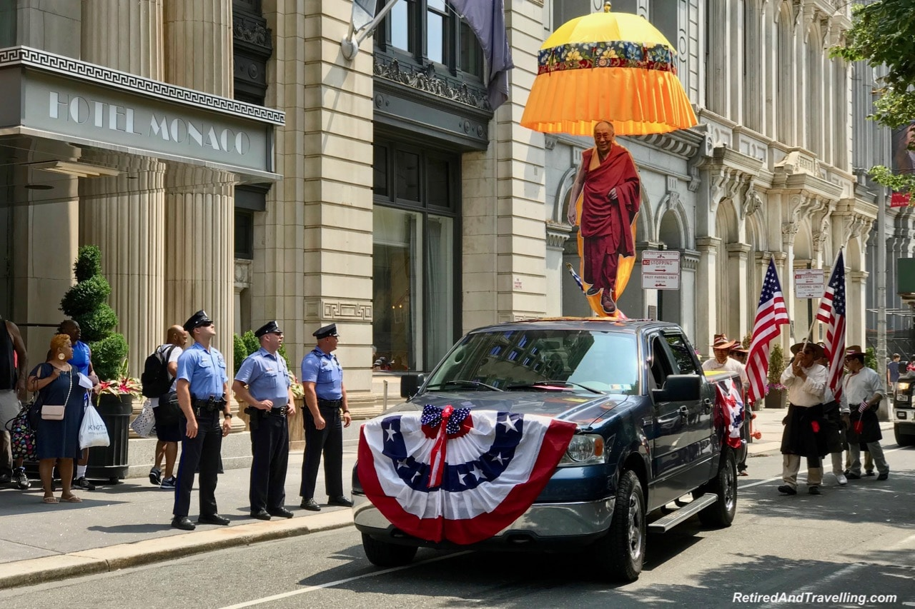 Parade Monks - Philadelphia For The July 4th Independence Day.jpg
