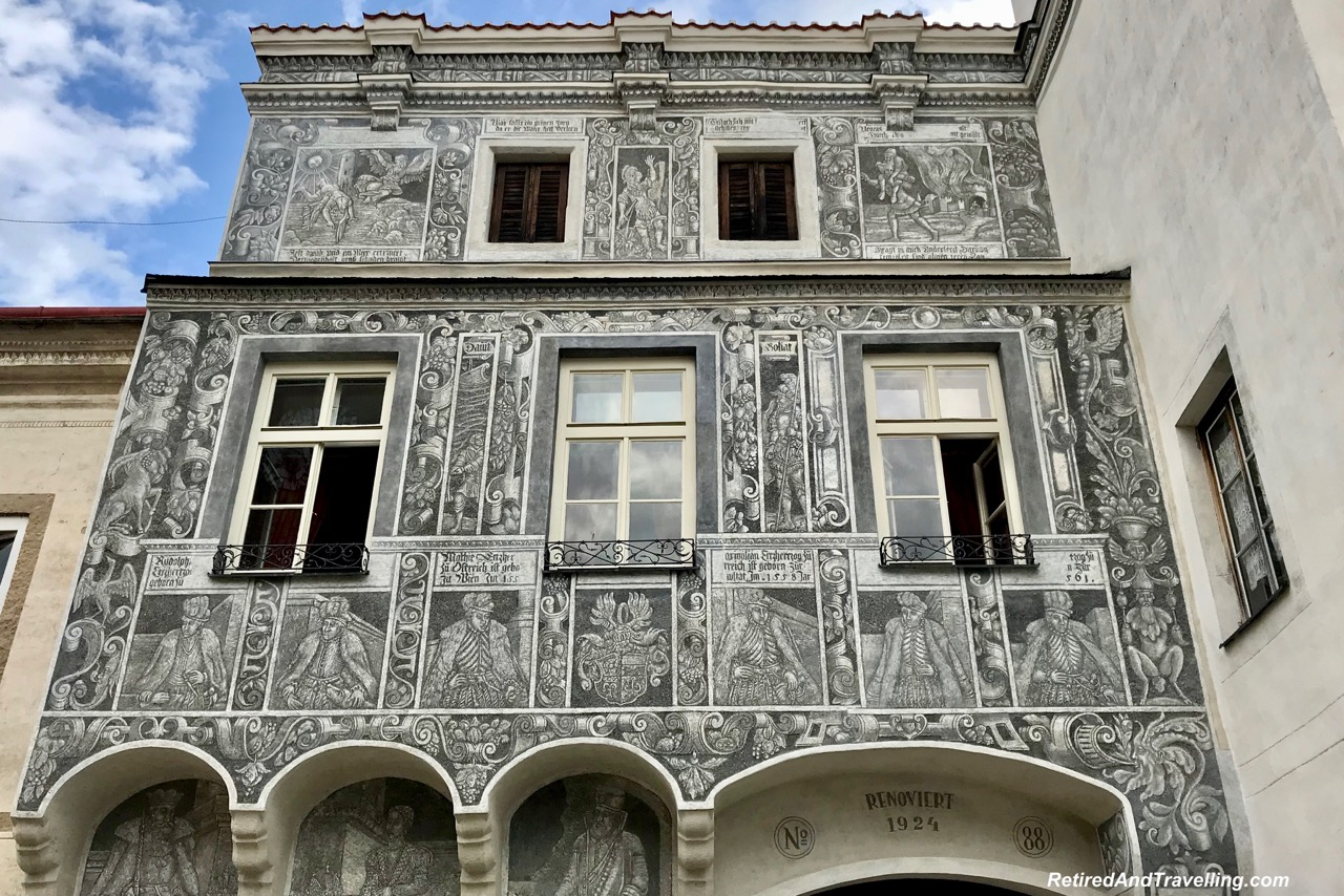 Slavonice Town Buildings Sgraffito - Stay In Slavonice Czech Republic.jpg
