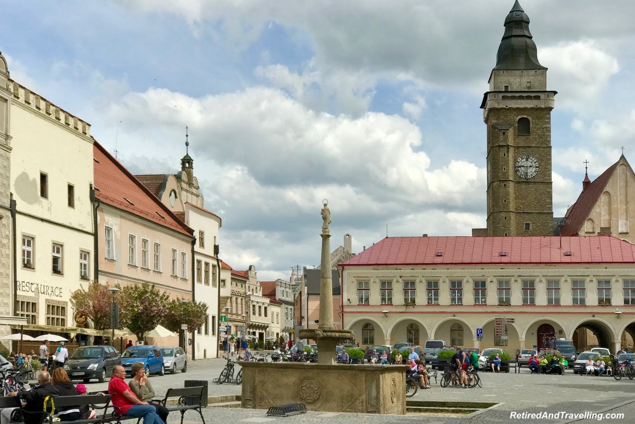 Slavonice Town Square - Stay In Slavonice Czech Republic.jpg