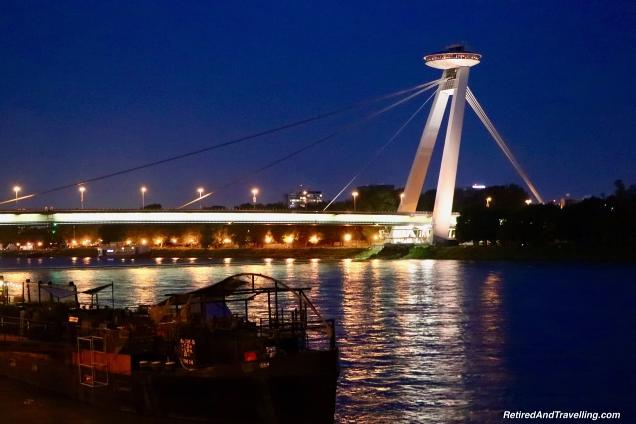 Bratislava Bridge and UFO Tower - Travel From Prague To Budapest.jpg