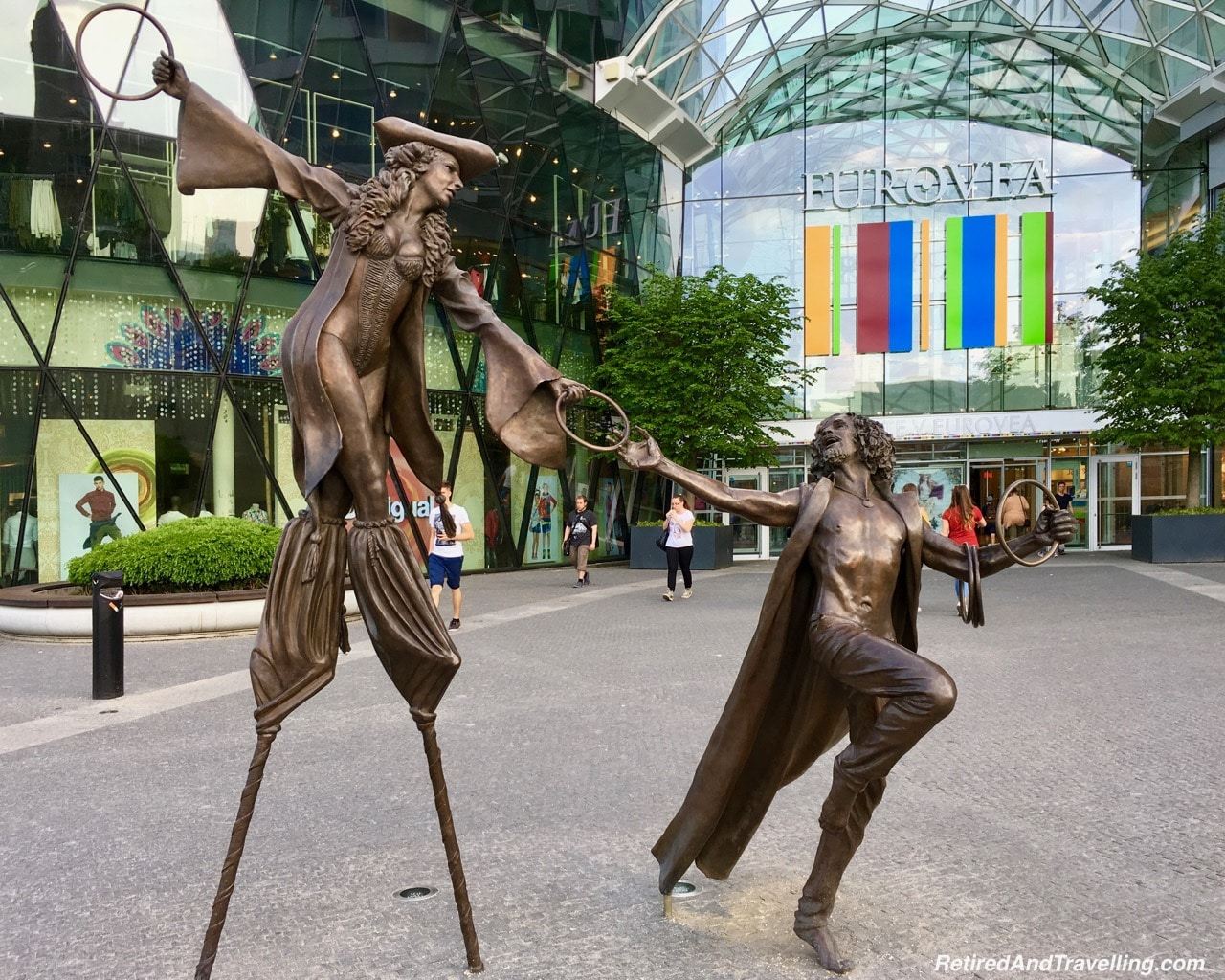 Bratislava Statue - Quick Visit To Bratislava.jpg