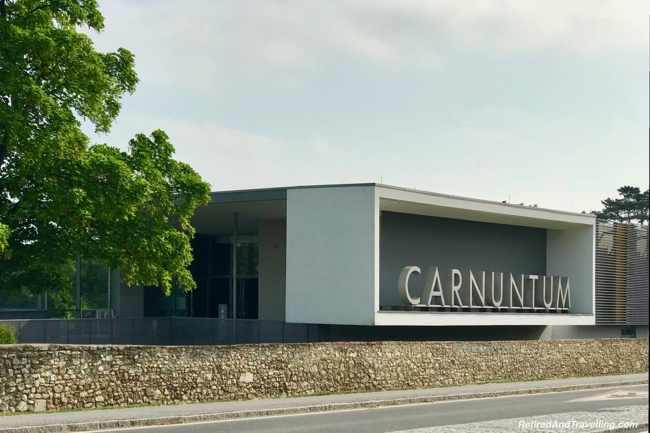 Carnuntum Entrance Sign - Roman History In Carnumtum.jpg