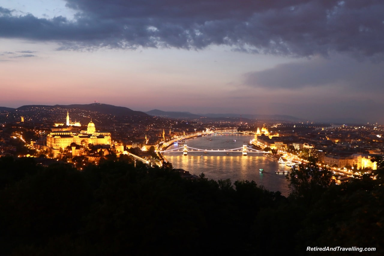 Gellert Hill Sunset Budapest - Travel From Prague To Budapest.jpg