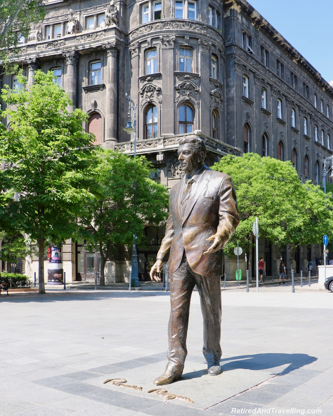 Ronald Reagan Statue - Things To Do In Budapest.jpg