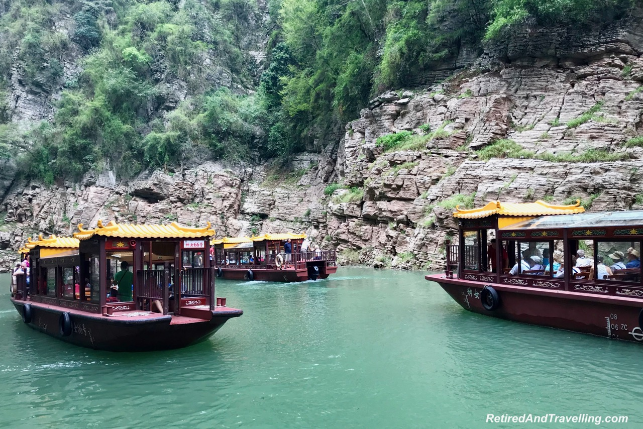 Goddess Stream Sampan Boat - Three Gorges On The Yangtze River.jpg