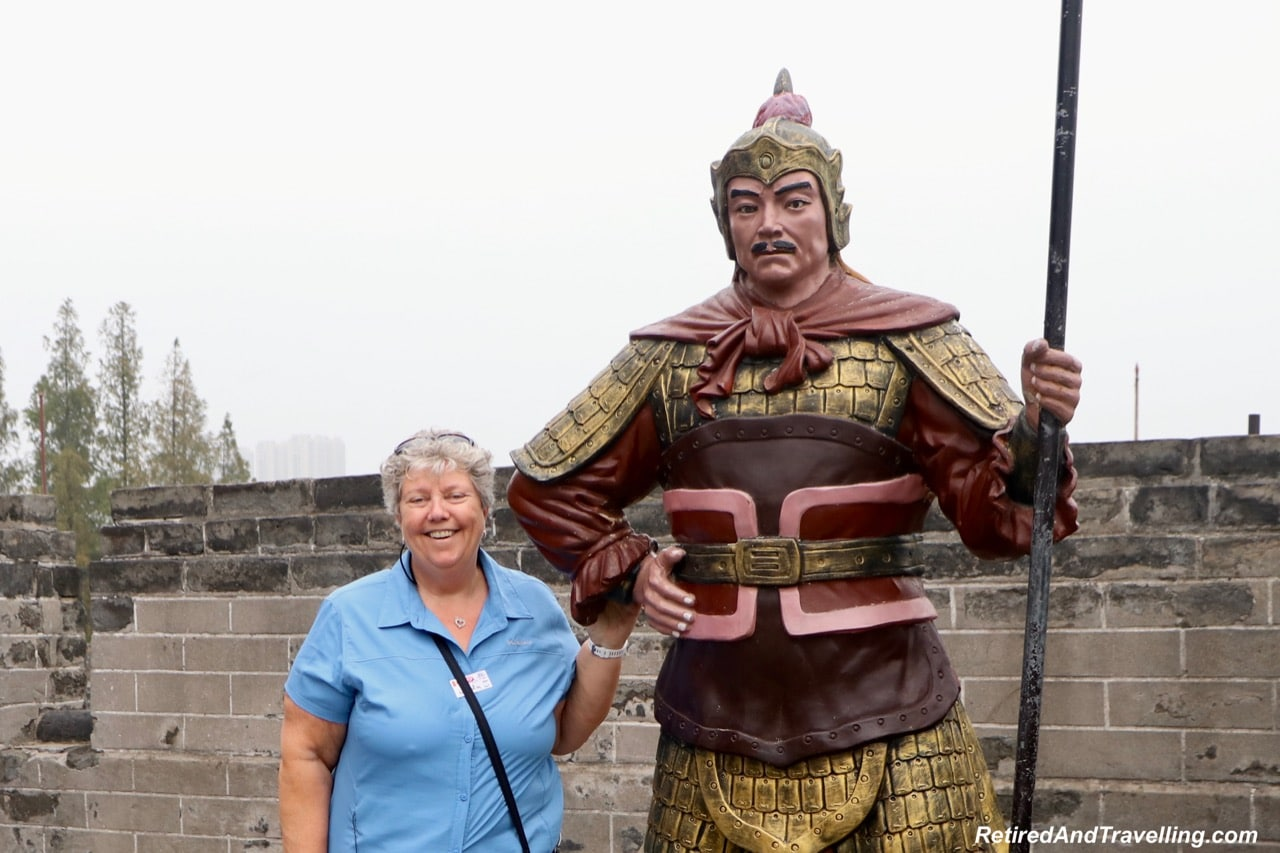 Jingzhou City Wall Statue - Cruise The Yangtze River In China With Viking Cruises.jpg
