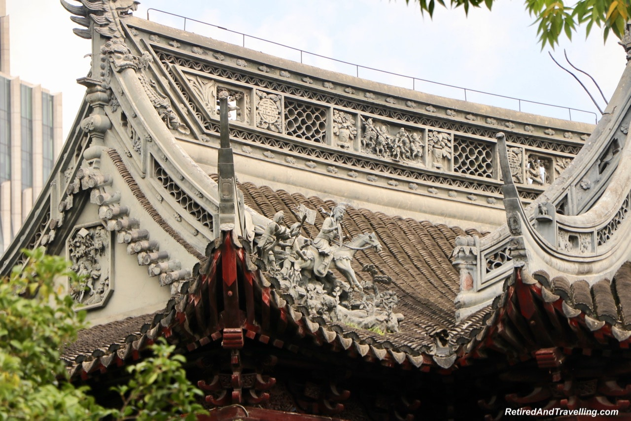 Yu Gardens Chinese Garden Building Roofs - Old Town and Yu Gardens in Shanghai.jpg