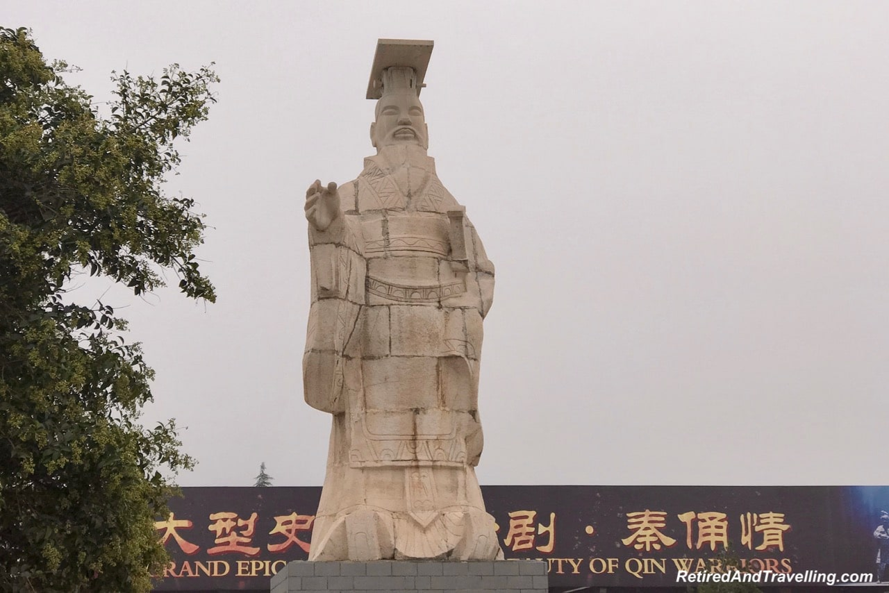 Entrance Statue - Terra Cotta Warriors In Xian.jpg
