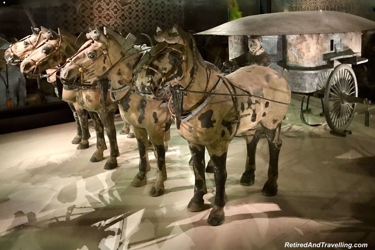 Exhibition Hall Chariots - Terra Cotta Warriors