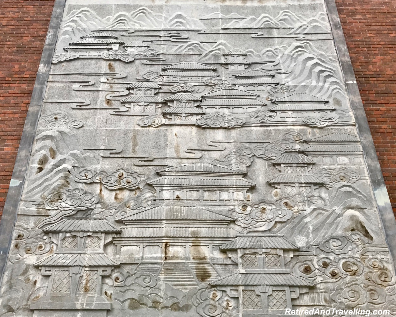 Mural Great Wall of China Life Is A Journey - Terra Cotta Warriors - Terra Cotta Warriors In Xian.jpg