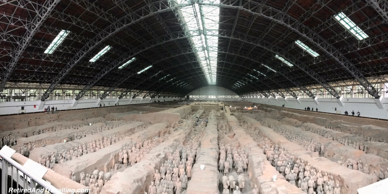 Pit 1 Terra Cotta Warriors - Terra Cotta Warriors In Xian.jpg