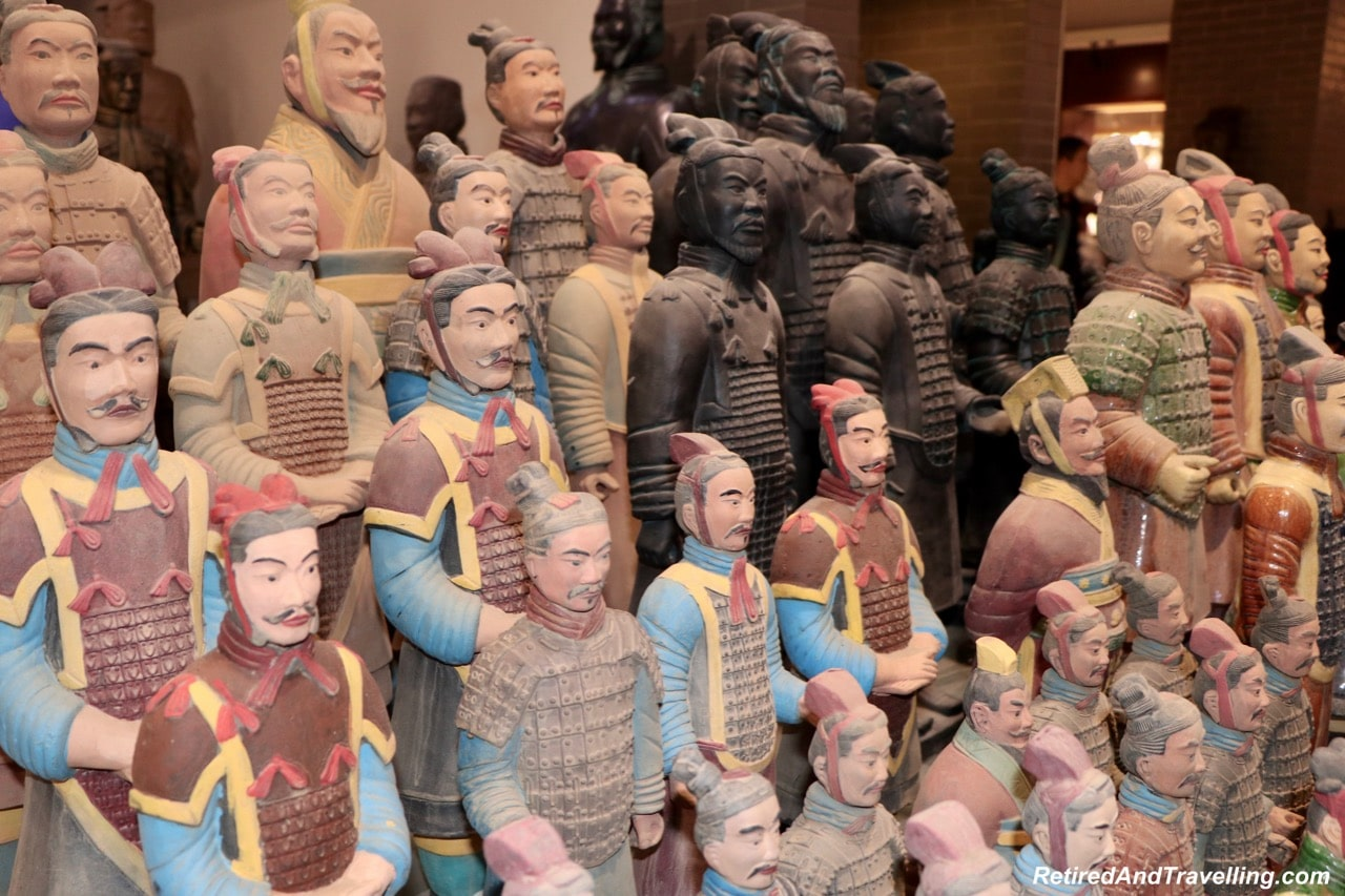Terra Cotta Warrior Workshop Souvenirs