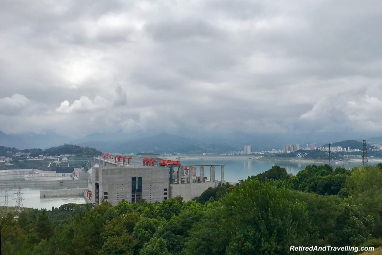 Three Gorges Dam - Three Gorges On The Yangtze River.jpg