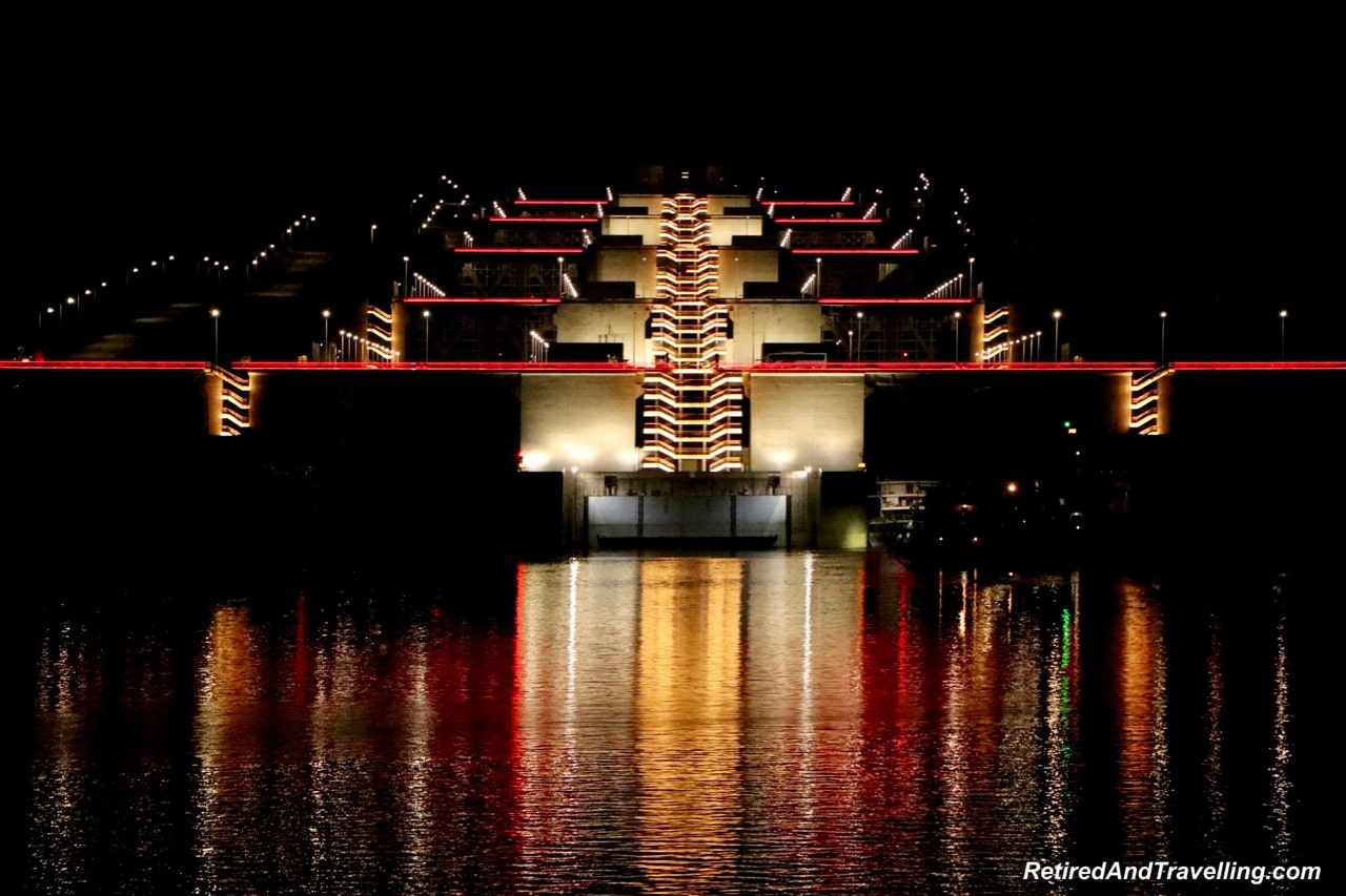 Three Gorges Dam Night Lights - Cruise The Yangtze River In China With Viking Cruises.jpg