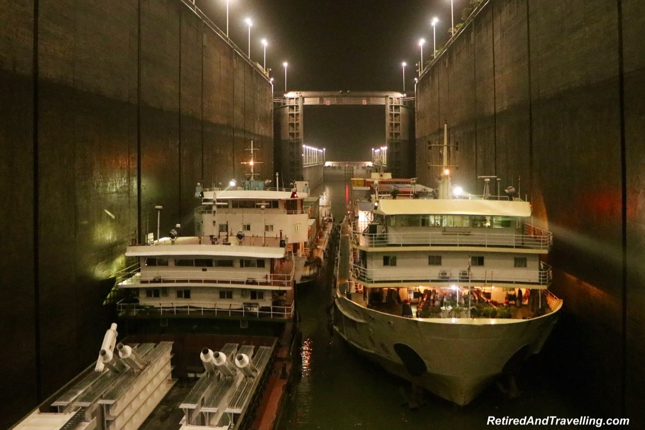 Three Gorges Dam Night Transit - Cruise The Yangtze River In China With Viking Cruises.jpg