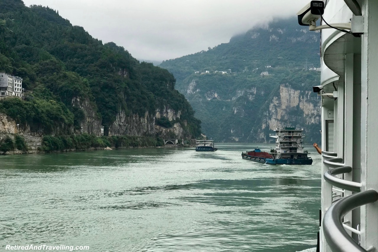 Xilang River Traffic - Three Gorges On The Yangtze River.jpg
