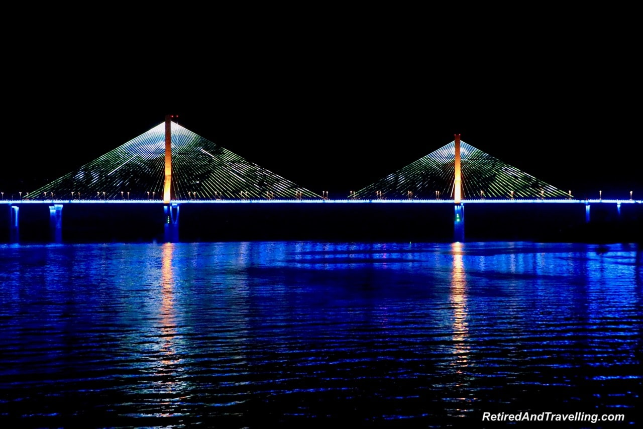 Yunyang Night Bridge Lights - Cruise The Yangtze River In China With Viking Cruises.jpg