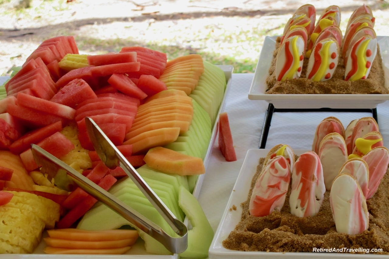 Windstar Cruises Beach BBQ Food - We Ate And Drank Our Way Through 2018.jpg