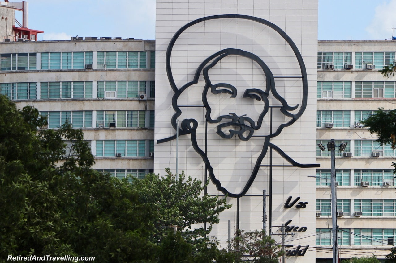 Revolution Square Camilo Cienfuegos - First Visit To Colourful Havana.jpg