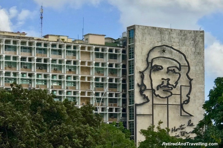 Revolution Square Che Guevara - First Visit To Colourful Havana.jpg