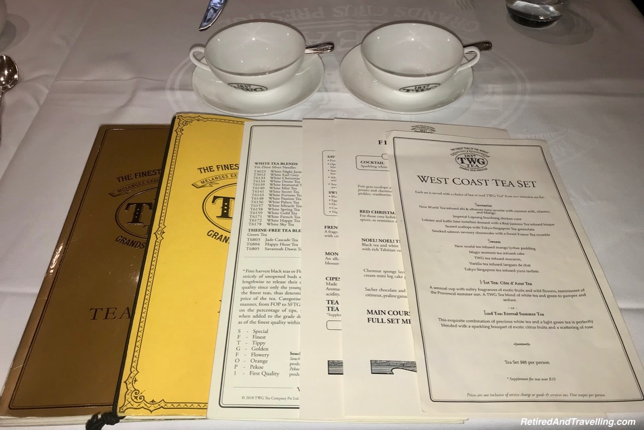 Vancouver TWG Tea Shop Afternoon Tea Menu.jpg