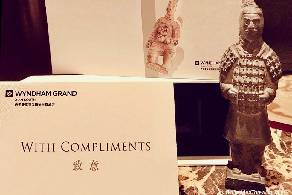 Wyndham Grand Xian Terra Cotta Warrior Amenity - Great Things To Discover In Xian China.jpg