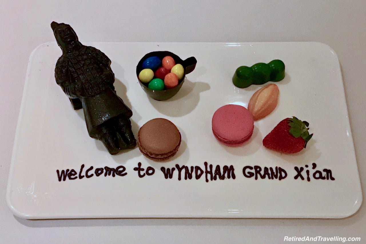 Wyndham Grand Xian Terra Cotta Warrior Amenity
