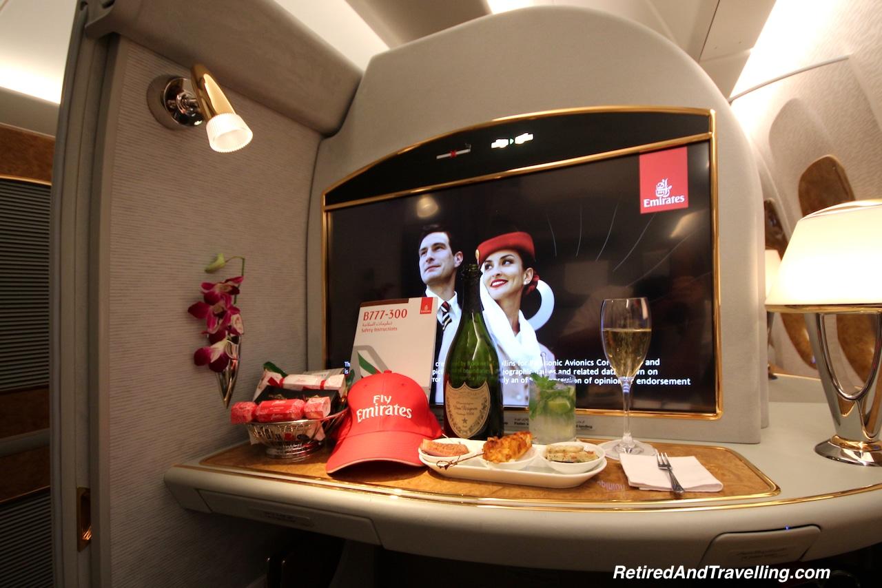 Luxury Treat Emirates First Class - Favourite Travel Blog Posts RetiredAndTravelling.jpg
