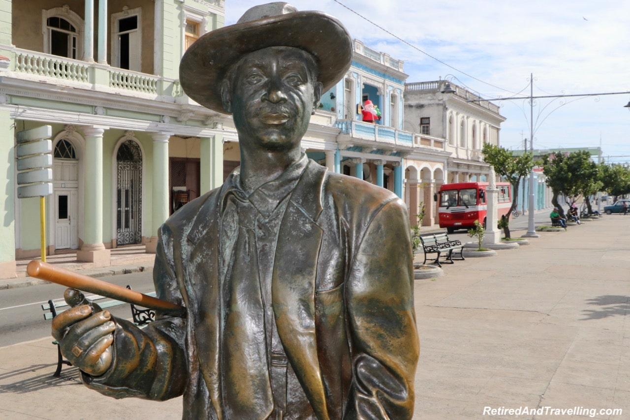 Cienfuegos Statue Benny More - Cruise Stops In Santiago de Cuba and Cienfuegos.jpg