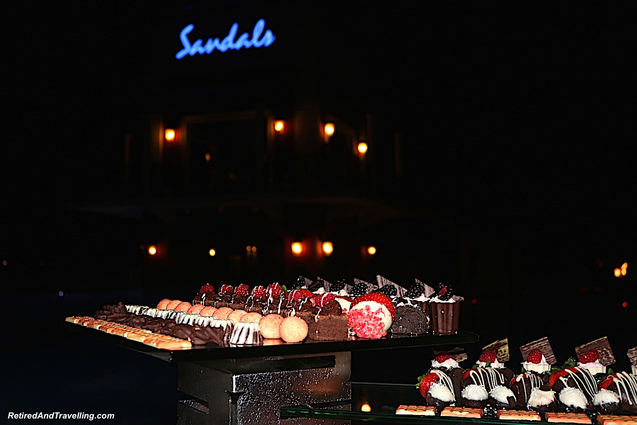 Chocolate at Sandals Chocolate Buffet - Great Reasons To Visit St Lucia.jpg