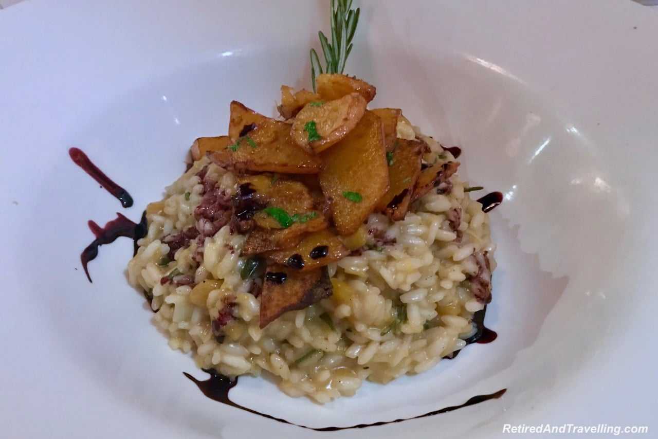Quattro Restaurant Risotto - Luxury Getaway At Ritz-Carlton Montreal.jpg