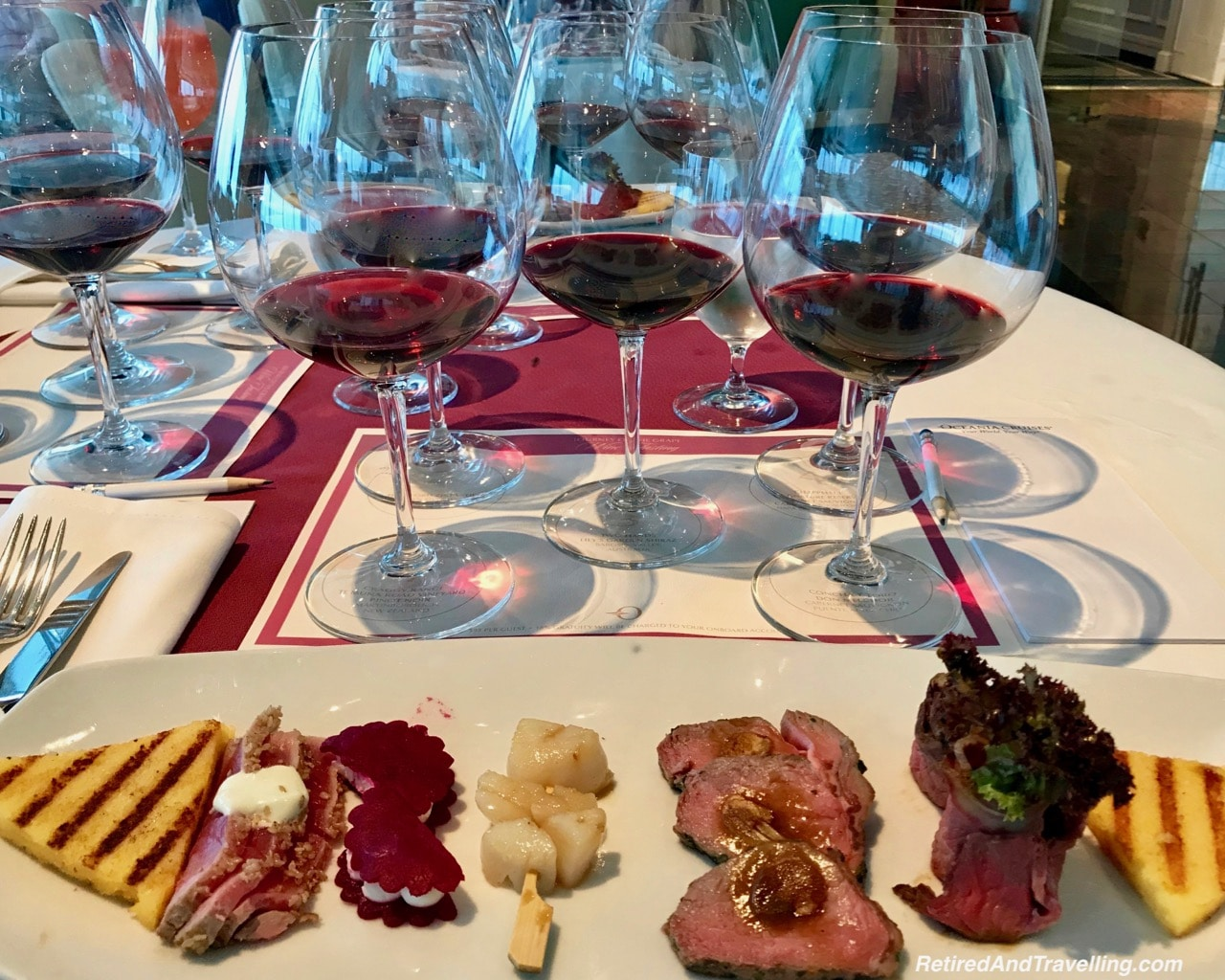 Oceania Cruises Insignia Wine Pairing - Cruise To Cuba For The Holidays.jpg