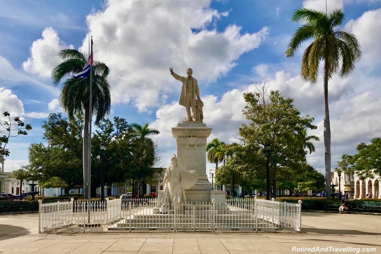 Statue Jose Marti Square Cienfuegos - Cruise Stops In Santiago de Cuba and Cienfuegos.jpg