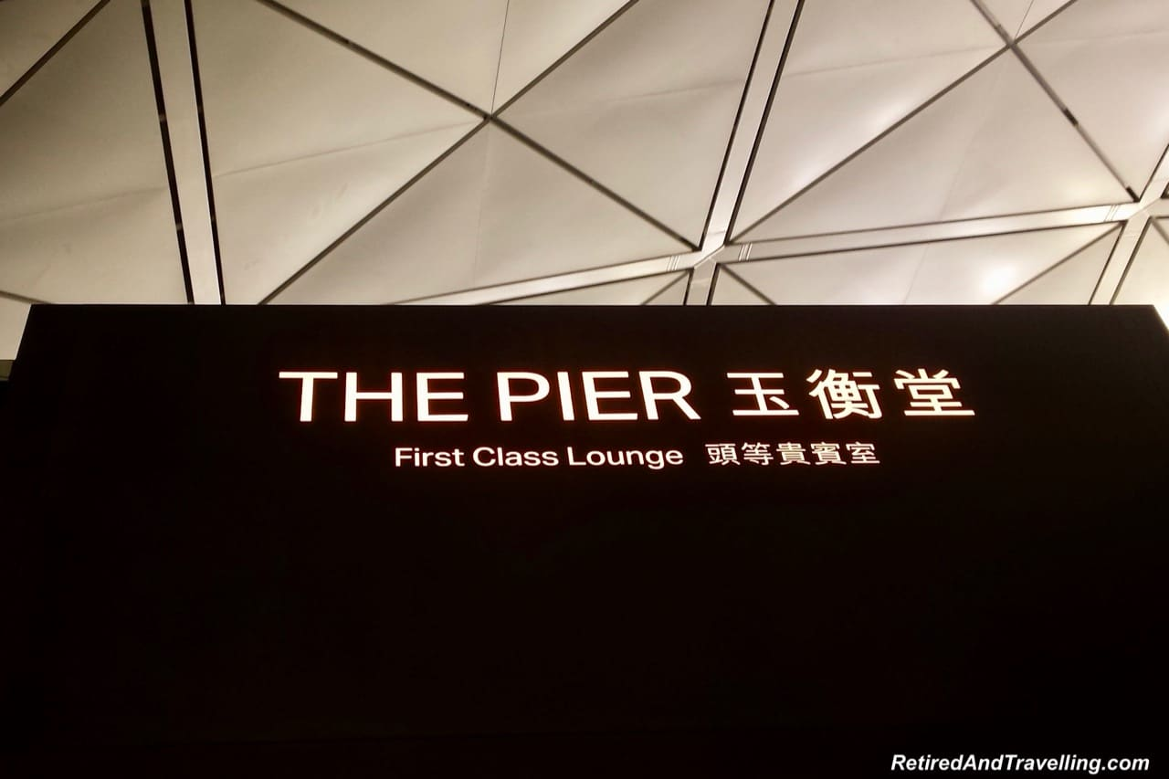 Cathay Pacific Business and First Class Lounges Hong Kong